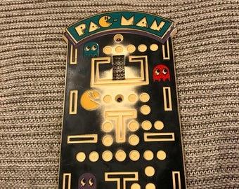 Vintage PacMan 1980 Light Cover