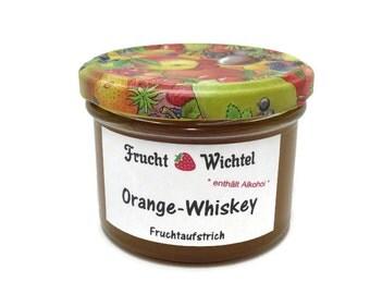 Orange whiskey fruit spread / jam
