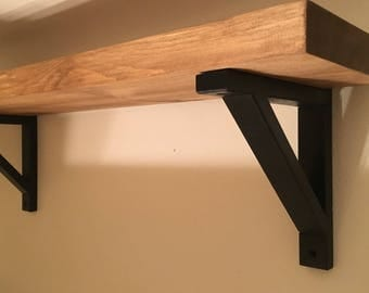 Rustic Wood Shelf - 2 Inch Various Sizes