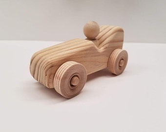 wooden toy car racer