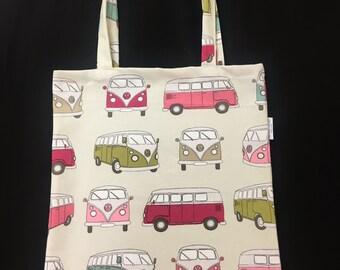 VW Camper Van Tote Bags