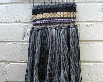 "3# ""Jute Storm"" woven wall hanging"
