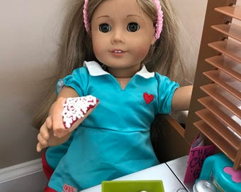 American Girl doll food  Cheese Pizza Slice