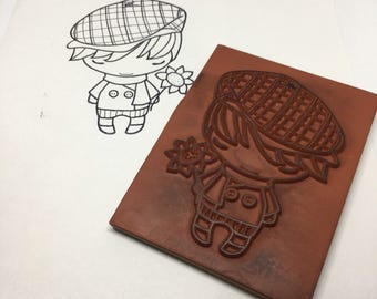 Rubber Stamp / Hello Ian / Scrapbooking / Card Making Supplies / Arts & Crafts / Kids Crafts / Greeting Farm / Cling Stamp