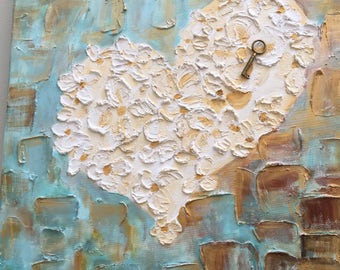 Image, key to the heart, handmade by KathyLeen