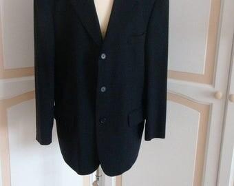 St Michael from Marks & Spencer Dark Navy  Mans Suit 40 Chest  Vintage