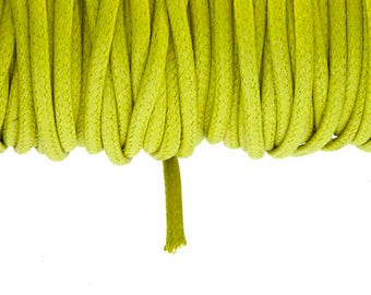 Lace cotton tarpaulin 2.7 mm verdino color