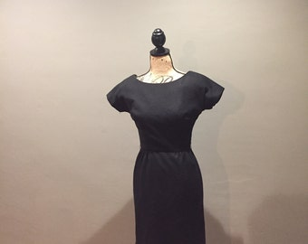 50's Wool Blend Dress