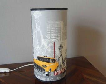 Lamp cylindrical decor NEW YORK