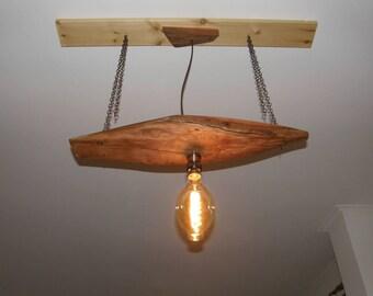 Eycaliptus wood pendant lighting