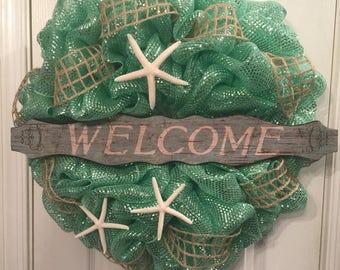 Welcome Beach Wreath
