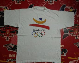 vintage olympic barcelona 1992