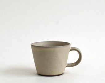 Mug cup (S, White), Made to Order in 2 month ; Mineko Nishimura (Studio Keizan) 16006201-SW
