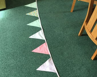 Handmade cotton bunting