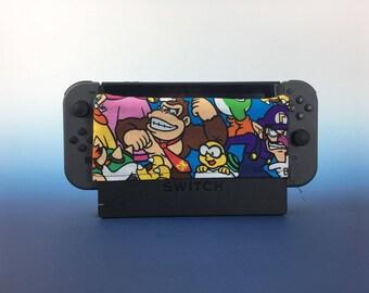 Nintendo Switch Dock Sleeve - Mario Characters