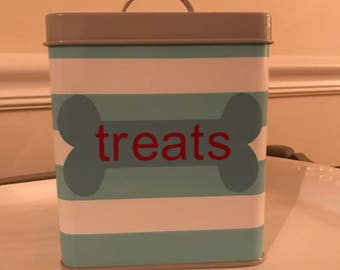 Treat tin for your pet