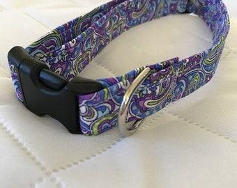 Paisley Dog Collar