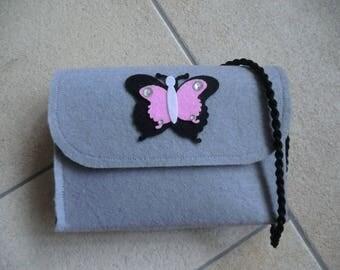 Felt bag for kids, hand bag for girls,