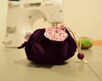 Small bag with flowers