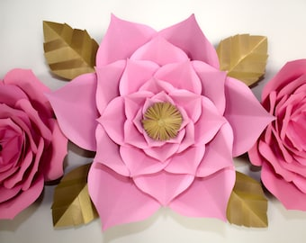Giant Paper Flower, Large Paper Flower, Party Decoration, Baby Shower BackDrop, Custom BackDrop, BackDrop for Photography