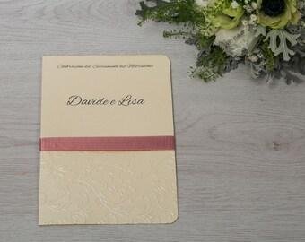 "Wedding celebration booklet-""Fairytale"""