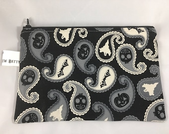 Zippered pouch, cosmetic bag