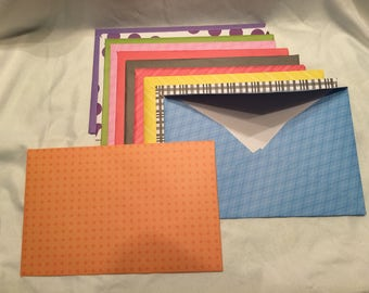 Envelopes - Bright, fun and colorfully designed