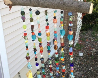 Glass Bead Wind-Chime Sun Catcher