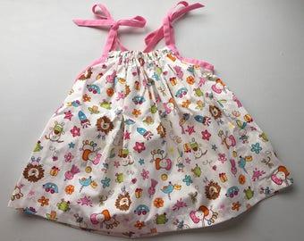 Cute print pillowcase dress.