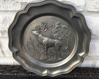 Tin plate wall plate