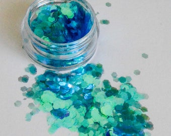 Beautiful Cosmetic Glitter Glacier Blue