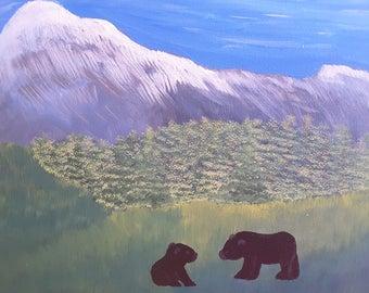 Bears in the Meadow