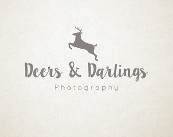 Stag Premade Logo, Photography or small Business