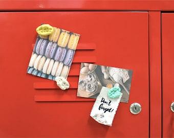 Chewing Gum Magnets set / Fake Gum Magnets set / A set of 4pcs / 05-s