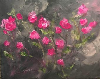 Original Artwork Spring Blooms