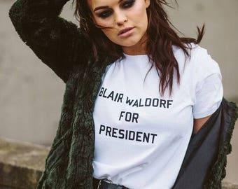Blair Waldorf 4 President T-shirt