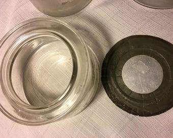 Vintage 1930's Fresherator jar set.