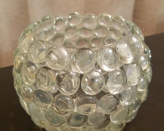 "Crystal Bubble Vase - 5"""