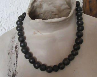 MEA-pearl necklace, ceramic jewelry, ceramics, jewelry, beads, necklace, pearl necklace