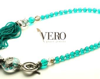 Peridot necklace Vero collection