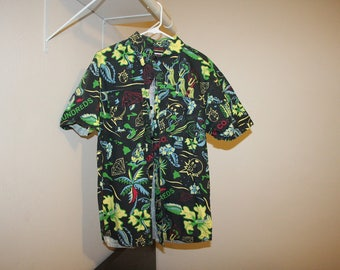 Diamond Supply and The Hundreds Short Sleeve Button Down