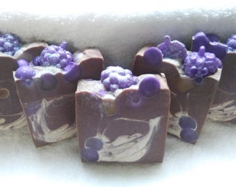 Grape Soda Handmade Artisan Soap