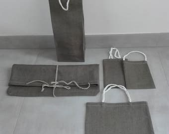 set of gift bags