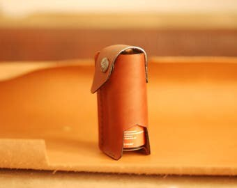 Leather  case for pepper spray