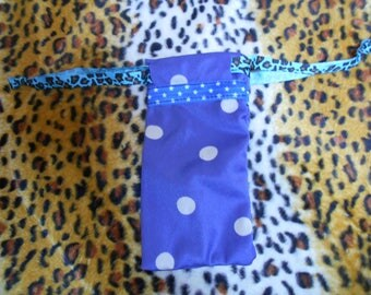 spectacle case polka dots