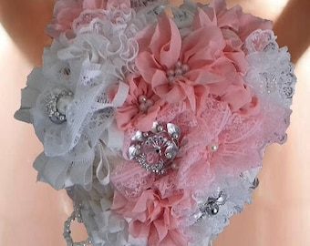 Shabby Chic Brooch Bouquet