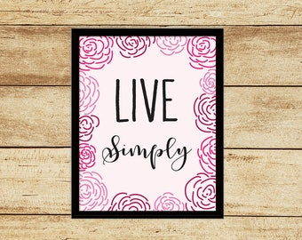 Live Simply Digital Download