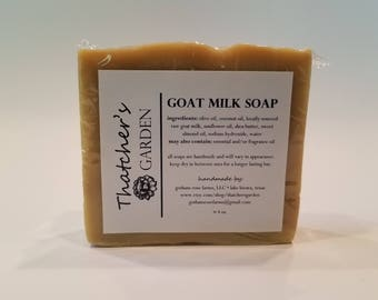 Goat Milk Soap - Toasted Almond