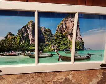 Window with a view - Thailand, beach view