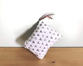 Triangle Catnip Pillow